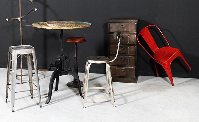 D couvrez les meubles industriels - Livre mobilier industriel ...