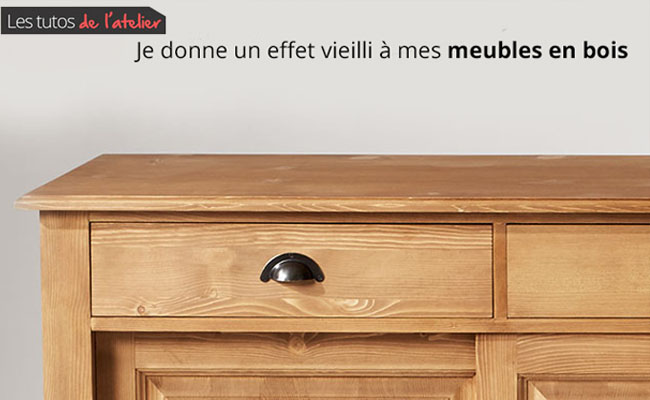peindre un meuble en bois effet vieilli 1000 ideas about meuble patin on pinterest relooking. Black Bedroom Furniture Sets. Home Design Ideas