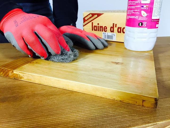 Comment Décirer Un Meuble Pour Le Peindre tuto: comment repeindre un meuble ciré - made in meubles