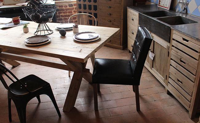 S lection de meubles en bois pour salle mangerle blog for Tendance meuble salle a manger 2015