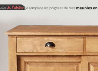 customiser poignees meubles