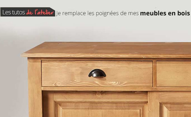 tuto remplacer les poign es de vos meubles. Black Bedroom Furniture Sets. Home Design Ideas