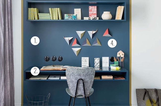 Conseils pour petit bureau for Amenagement bureau petit espace
