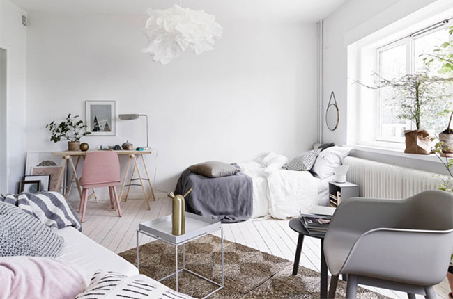 Decoration Chambre Ado Cocooning Scandinave