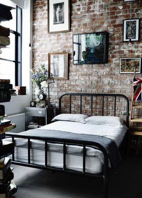 Inspirations pour une déco de chambre style industriel