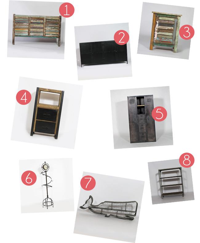 inspirations pour une d co de chambre style industriel. Black Bedroom Furniture Sets. Home Design Ideas