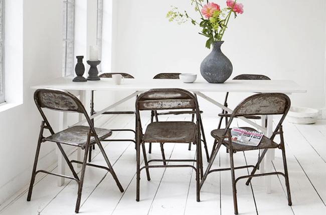 inspiration d co chaises industrielles. Black Bedroom Furniture Sets. Home Design Ideas