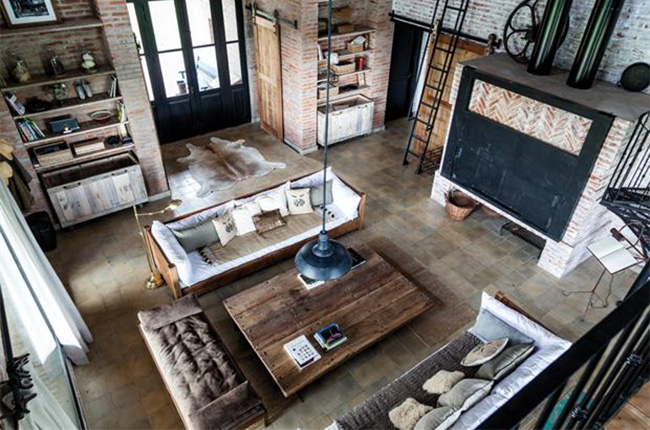 conseils pour adopter la tendance loft industriel. Black Bedroom Furniture Sets. Home Design Ideas
