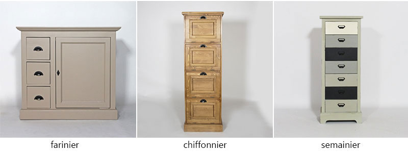 d finitions de chiffonnier semainier bonneti re le blog d co de made in meubles. Black Bedroom Furniture Sets. Home Design Ideas