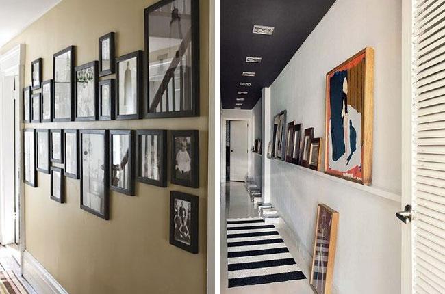 Conseils d co pour le couloir d une entr e blog d co mim - Stickers couloir maison ...