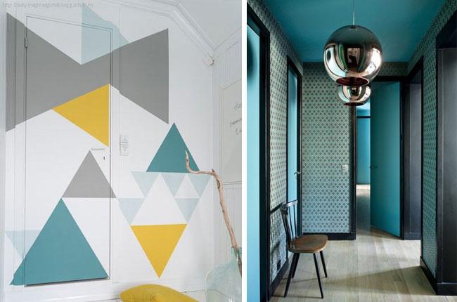 couloir colore