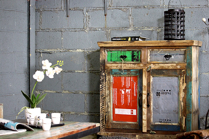 Conseils d co pour une entr e style loft industriel - Creer une entree dans une maison ...