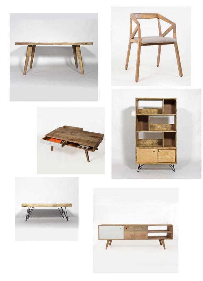 selection meubles scandinaves