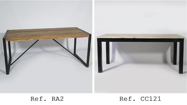 table loft industriel