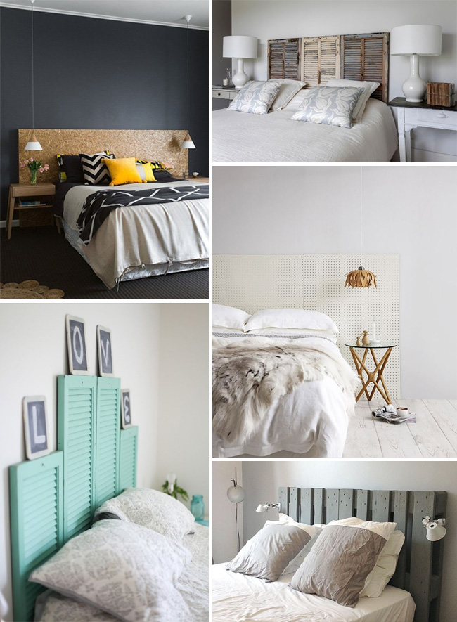 20 id es de t tes de lit faire soi m me le blog d co for Idees deco tete de lit