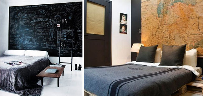 20 id es de t tes de lit faire soi m me made in meubles. Black Bedroom Furniture Sets. Home Design Ideas