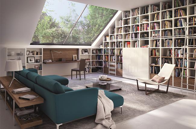 Id es de biblioth ques originales pour les amoureux de lecture le blog d co de made in meubles - Deco bibliotheque originale ...