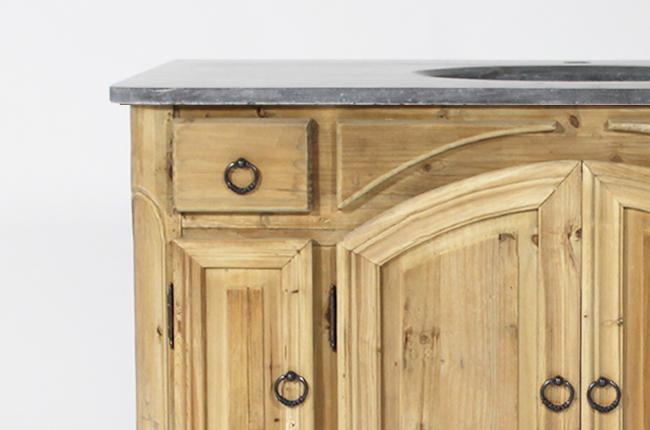 Entretien meubles de salle de bain en bois recycl for Ou acheter meuble salle de bain