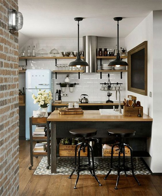 Id es d co pour une cuisine vintage le blog d co de made in meubles - Idees decoration cuisine ...