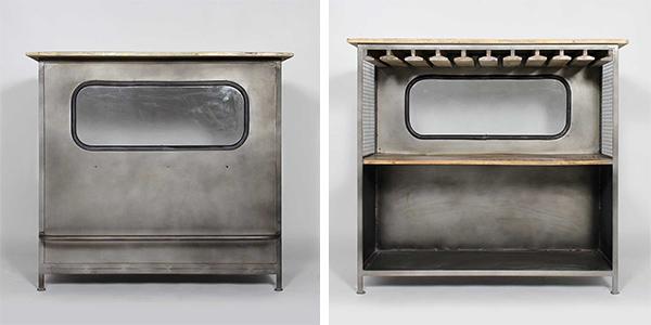 les meubles industriels sont en soldes made in meublesle blog d co de made in meubles. Black Bedroom Furniture Sets. Home Design Ideas