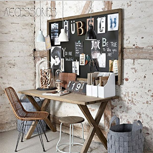 bureau industriel nos id es d co made in meubles. Black Bedroom Furniture Sets. Home Design Ideas