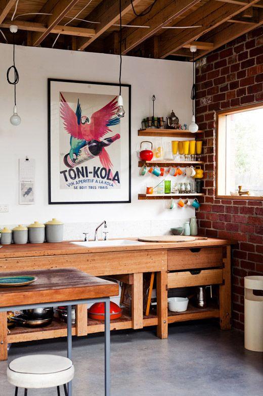 id es d co pour une cuisine vintage le blog d co de made in meubles. Black Bedroom Furniture Sets. Home Design Ideas