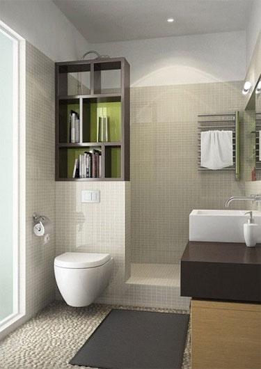 Conseils d co pour am nager une petite salle de bain - Salle de bain italienne petite surface ...