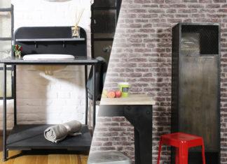 soldes meuble industriel