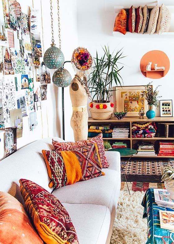 tendance d coration color e pour son salon made in. Black Bedroom Furniture Sets. Home Design Ideas