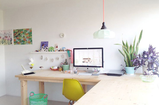 Id es d co pour un bureau feng shui made in meubles for Idee deco bureau travail