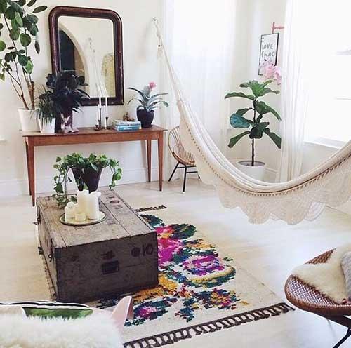 chambre exotique hamac