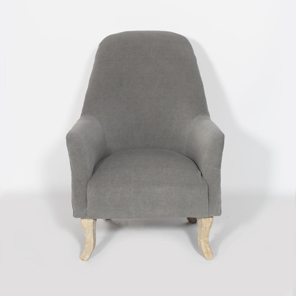 fauteuil tissu colore floral gris 01_1