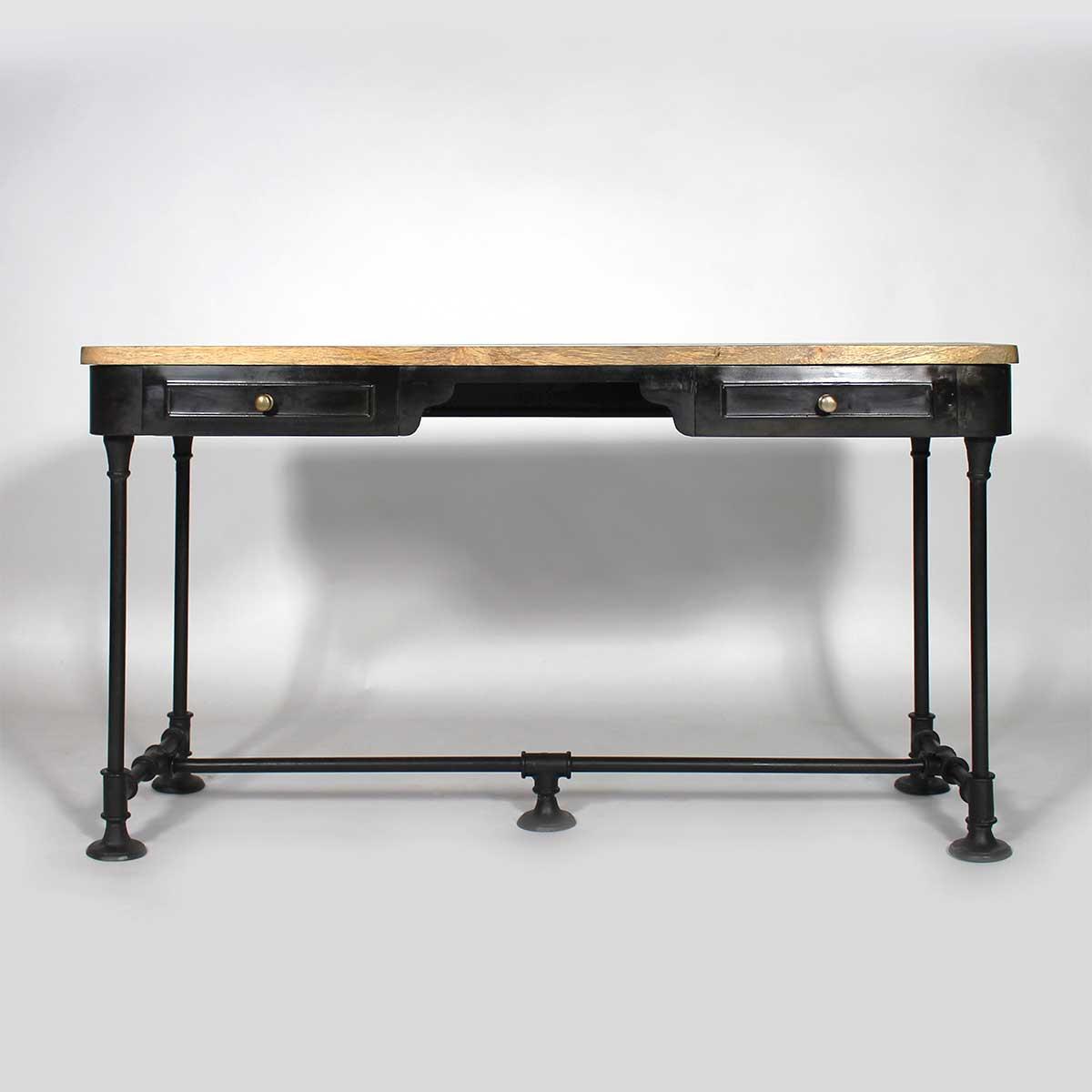 meuble console industriel vintage