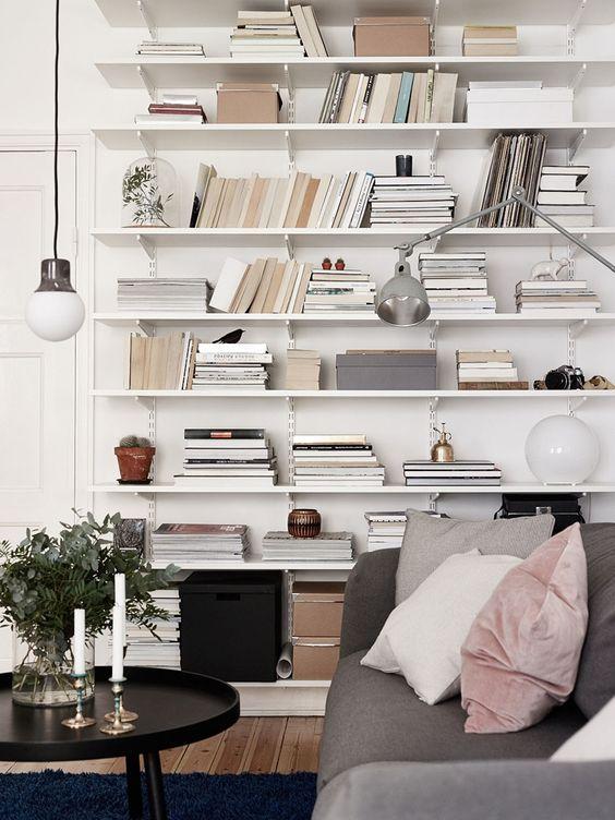 étagère murale bois