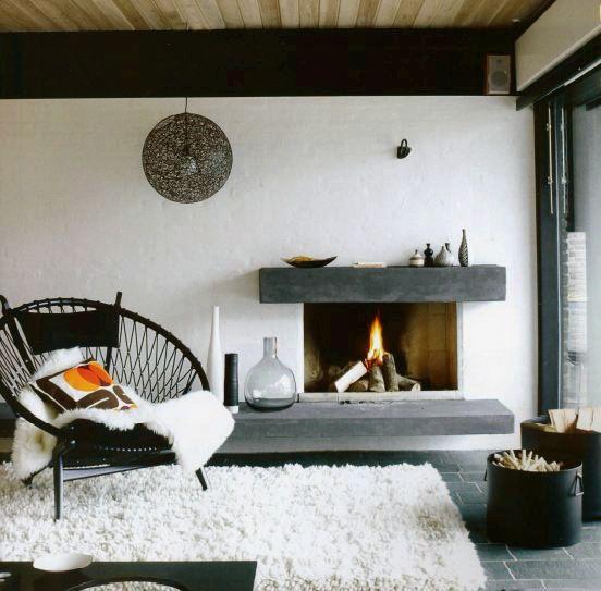 inspi d co pour un salon ambiance zen. Black Bedroom Furniture Sets. Home Design Ideas