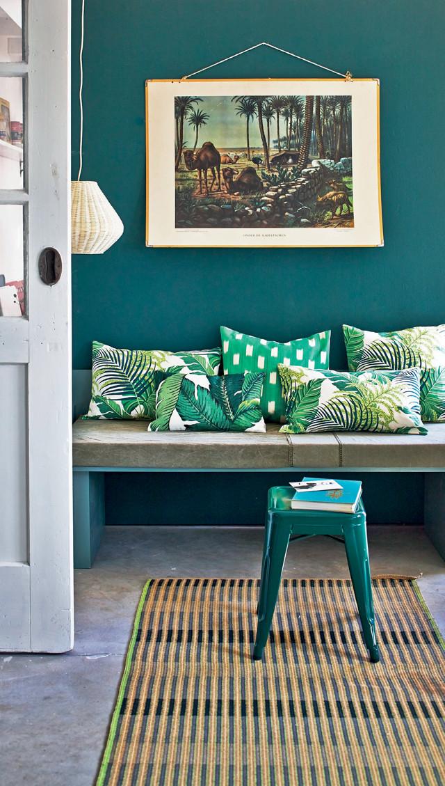 vert et bleu