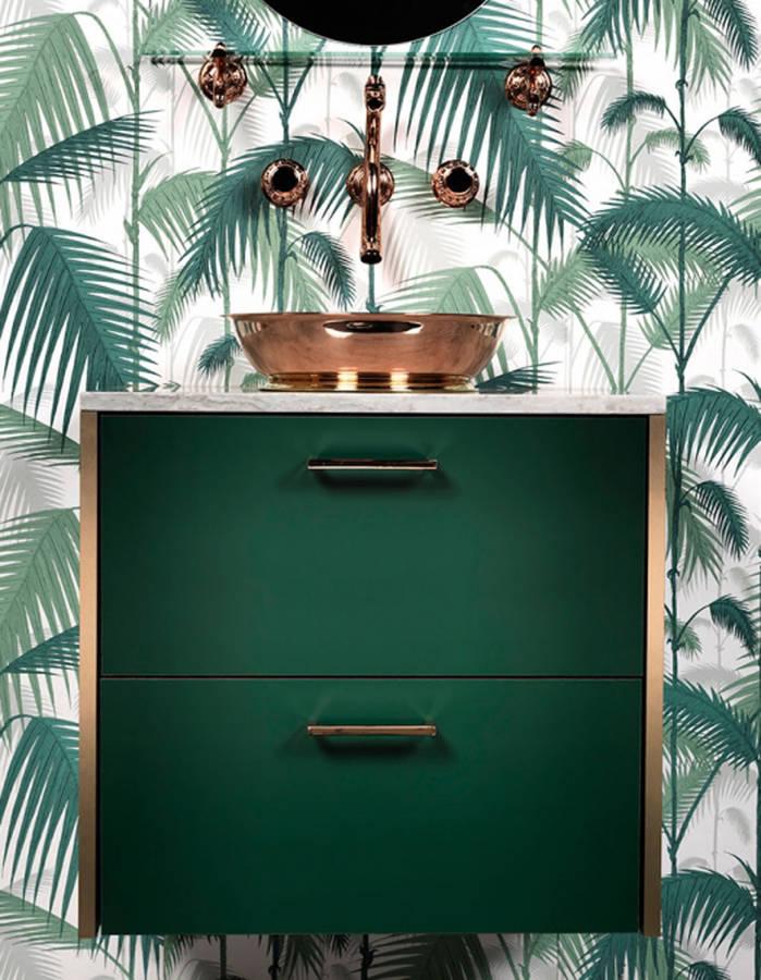 déco vert tropical