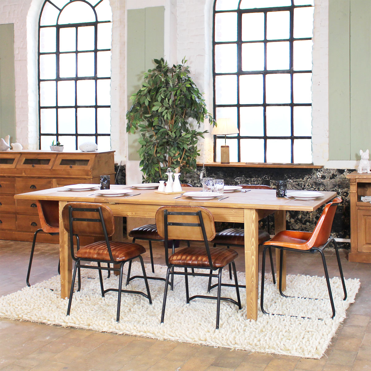 table a manger bois massif