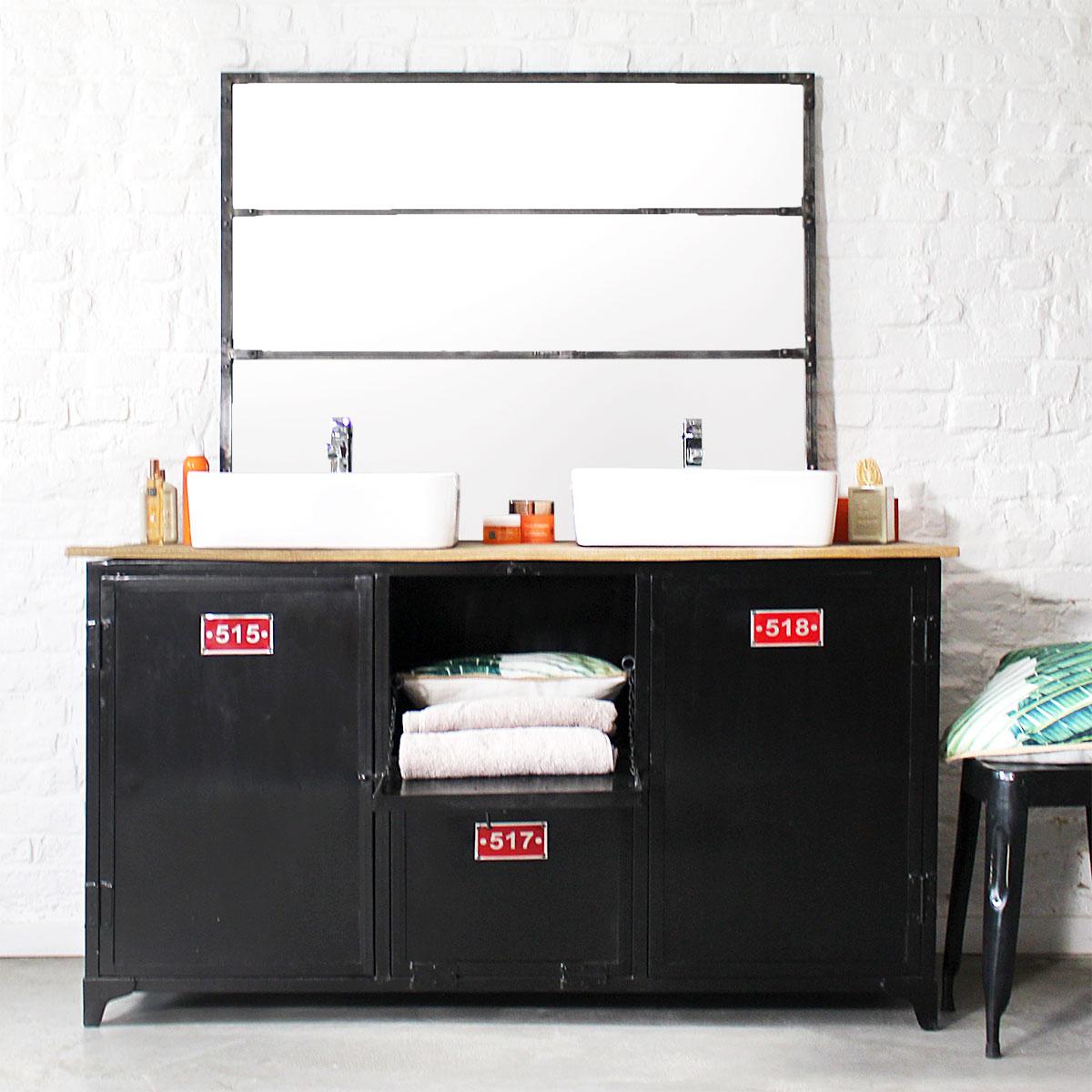 Conseils d co pour choisir son meuble salle de bain metal le blog d co de made in meubles - Meuble sdb ontwerpen ...