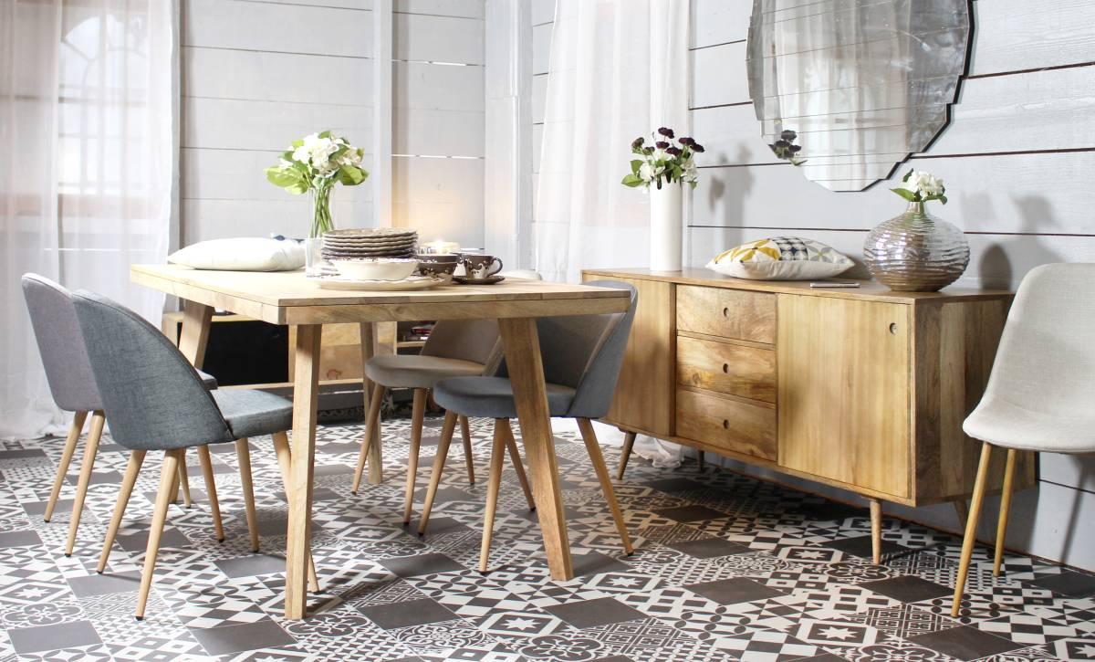 chaises depareillees scandinave fauteuils confort