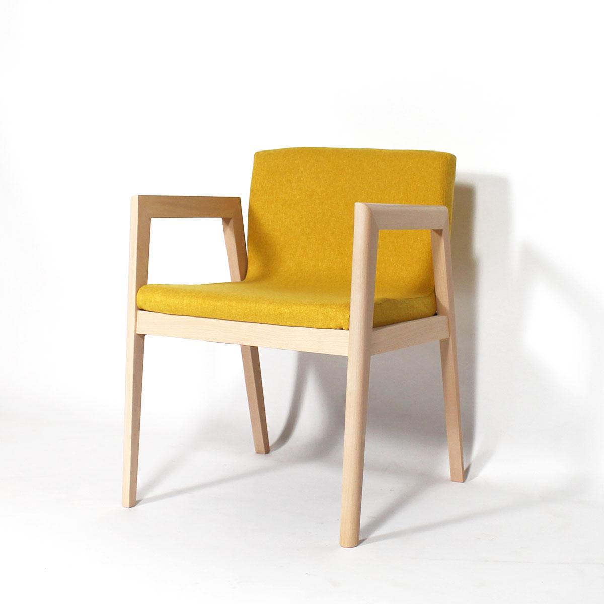 fauteuil cosy confort jaune