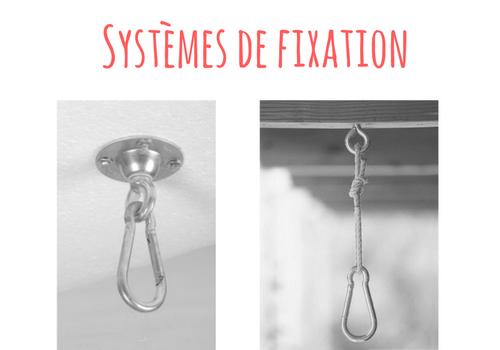 fixation oeuf suspendu