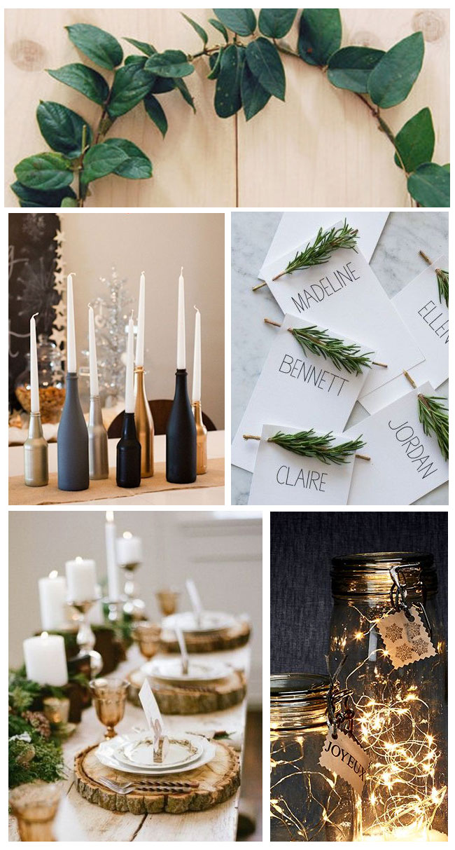 idee deco table noel