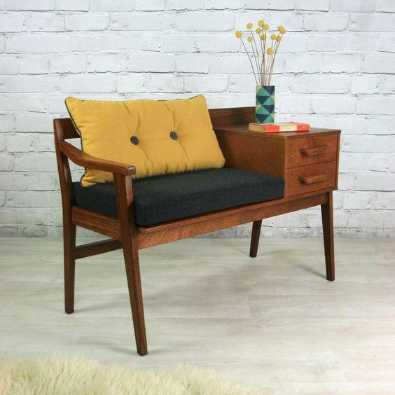fauteuil vintage bois entretien