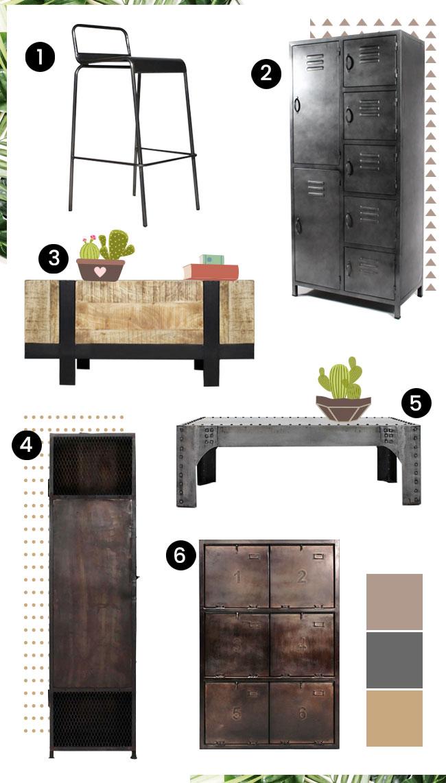 retaper meuble industriel