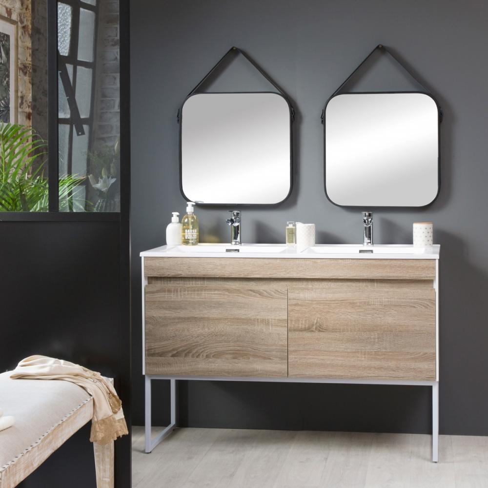 Meuble de salle de bain style industriel