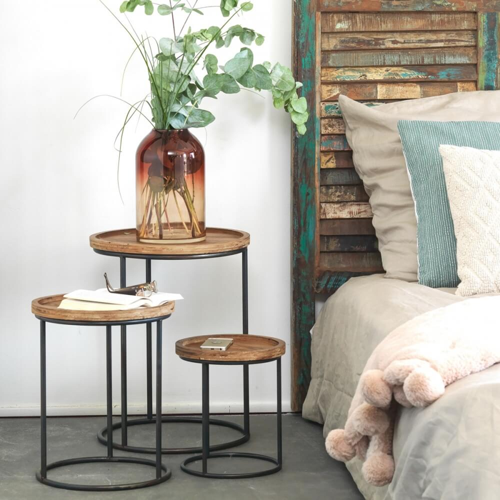 tables d'appoint style industriel