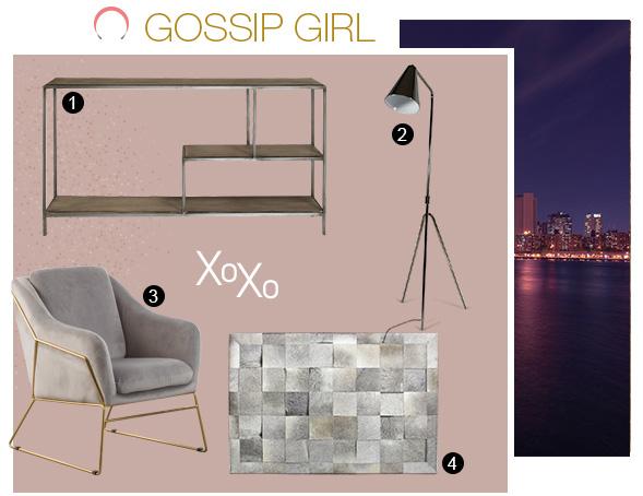 Découvrez l'ensemble de meubles pour créer une ambiance new-yorkaise