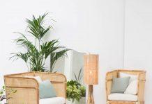 ensemble de meubles pour réaliser une décoration bohème et chic