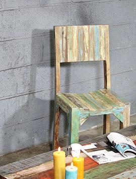 Chaise bois massif